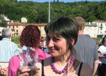 Marica con trofeo Mallare 2007