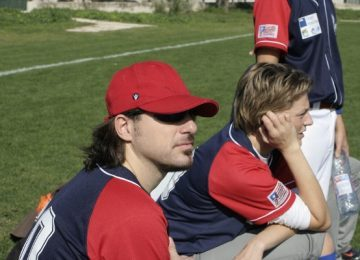 Tatanka osservano la partita al torneo di Marsiglia 2009